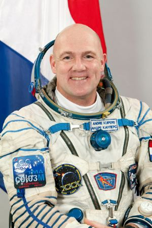 "ESA Astronaut Andre Kuipers 8""x10"" Full Colour Portrait"